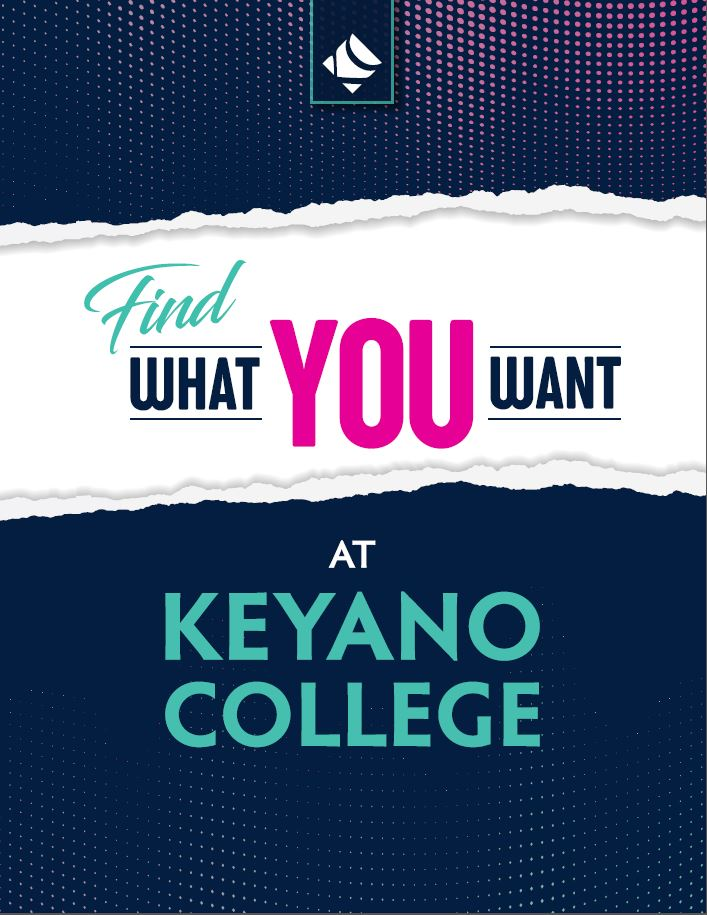 cover of Keyano College viewbook