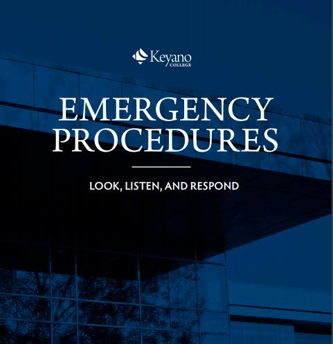 Emergency preparedness booklet