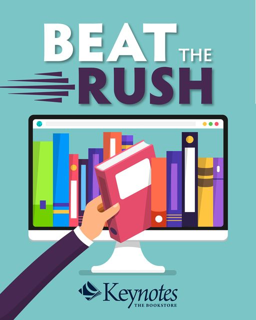 Beat the Rush to Keynotes Book store